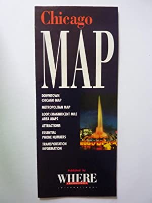 CHICAGO MAP Published by WHERE MAGAZINES