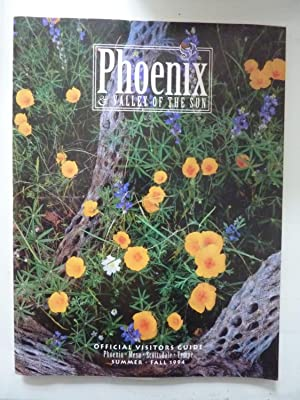 PHOENIX VALLEY OF THE SUN - OFFICIAL VISITORS GUIDE SUMMER / FALL 1994