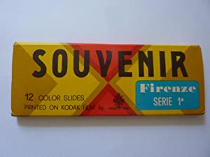 SOUVENIR 12 Color Slides printed on Kodak Film by NOVA LUX FIRENZE Serie 1