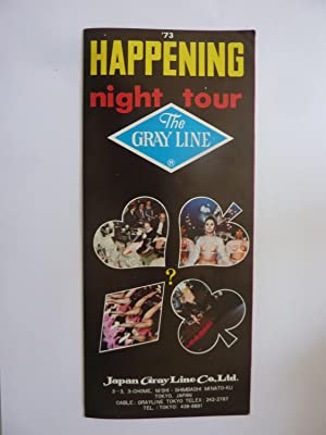 1973 HAPPENING HIGHT TOUR THE GRAY LINE