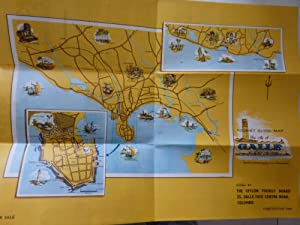 A TOURIST'S GUIDE MAP OF GALLE