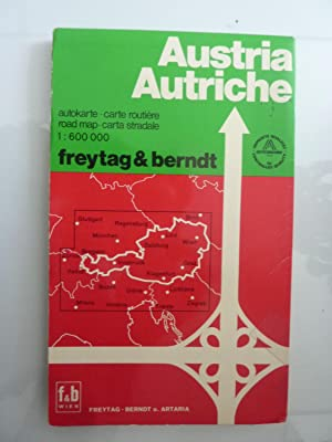 OSTERREICH Carta Stradale, Autokarte, Carte Routerie, Road Map