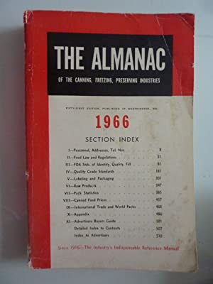 THE ALMANAC OF THE CANNING, PFRESERVING INDUSTRIES 1966