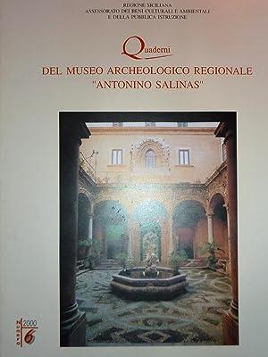 Regione Siciliana, Assessorato dei Beni Culturali e: AA.VV.