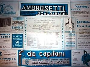 Aprile 1934 - Spettacolo d'oggi ALESSANDRO MOISSI