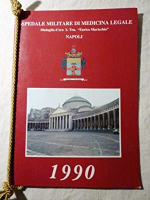 Calendario OSPEDALE MILITARE DI MEDICINA LEGALE Medaglia