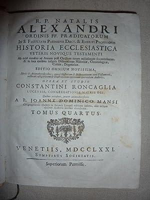 R.P. NATALIS ALEXANDRI ORDINIS FF. PRAEDICATORUM In: Alexandre Noel (