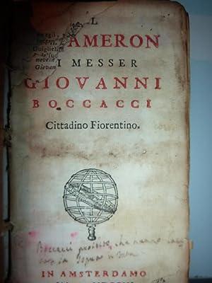 Il Decamerone di Messer Giovanni Boccacci Cittadino: Giovanni Boccaccio