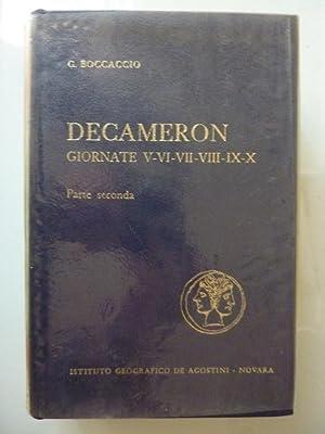 DECAMERON, Giornate V - VI - VII: Giovanni Boccaccio