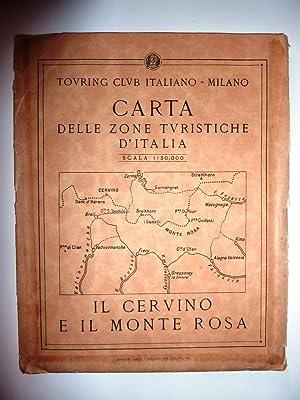 Touring Club Italiano - Milano. CARTA DELLE