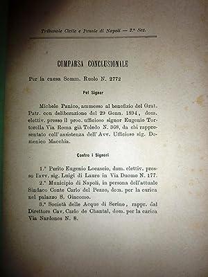 Tribunale Civile e Penale di Napoli -