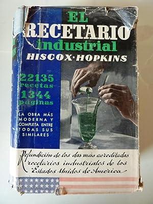 RECETARIO INDUSTRIAL. Encicolpedia de Formulas, Secretos, Recetas, Praticas de Taller, ...