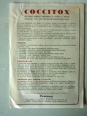 COCCITOX Olio Bianco Minerale emulsionato ed attivo al Diditox - RUMIANCA, Società per ...
