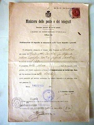 MINISTERO DELLE POSTE E TELEGRAFI, Direzione Generale