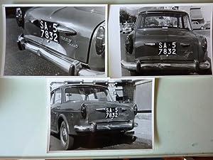 Lotto di Foografie Automobile FIAT 1100 D