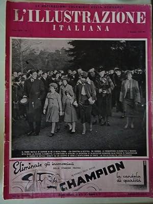 L'ILLUSTRAZIONE ITALIANA ANNO LXIV 3 Gennaio 1937