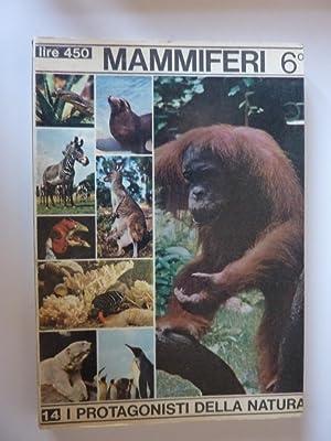 """Collana I Protagonisti della Natura - MAMMIFERI 6°: Sdendati, Dermotteri, Primati"""": AA.VV."""