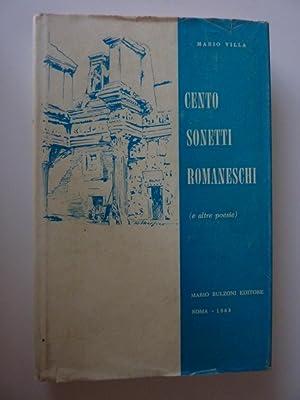 CENTO SONETTI ROMANESCHI ( e altre Poesie: Mario Villa