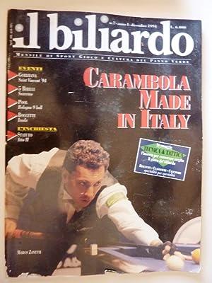 IL BILIARDO - Mensile di Sport, Gioco: AA.VV.