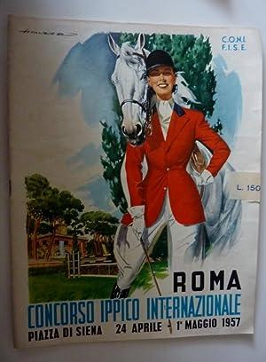 C.O.N.I. - F.I.S.E. ROMA - CONCORSO IPPICO: AA.VV.