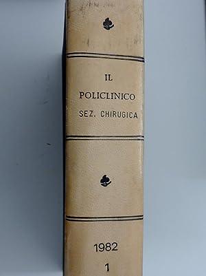IL POLICLINICO Periodico di Medicina, Chirurgia ed: AA.VV.