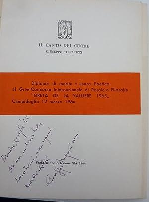 """IL CANTO DEL CUORE Poesie"""": Giuseppe Stefanizzi"""