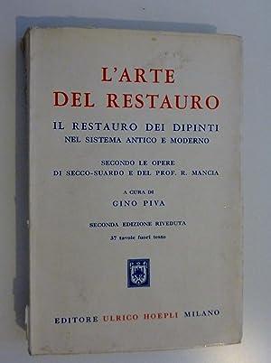 L'ARTE DEL RESTAURO. IL RESTAURO DEI DIPINTI: Gino Piva