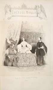 Lucrèce Borgia, drame: HUGO, Victor.