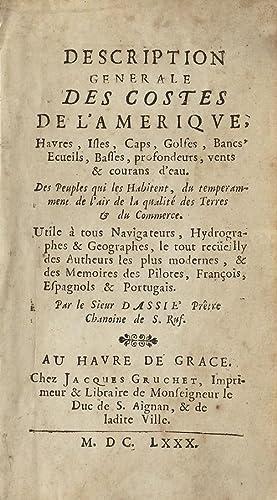 Description generale des costes de l'Amerique, Havres,: DASSIE.