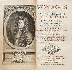 Voyages de Mr. le chevalier Chardin, en: CHARDIN