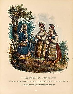 Les costumes du peuple polonais suivis d'une: Zienkowicz, Léon