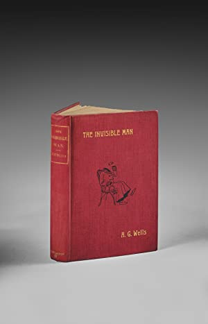 The Invisible Man. A Grotesque Romance.: Wells, Herbert George.