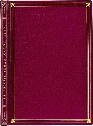 Le Recueil Iehan Marot de Caen, Poete: Marot, Jean.