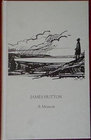 James Hutton: A Memoir: Boynton, Mary &