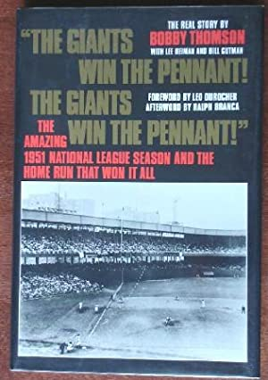The Giants Win The Penant! The Giants Win The Penant!
