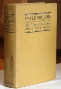 Enter Sir John: Dane, Clemence and