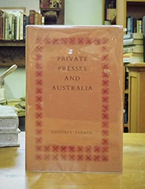 Private Presses and Australia, With A Check-List
