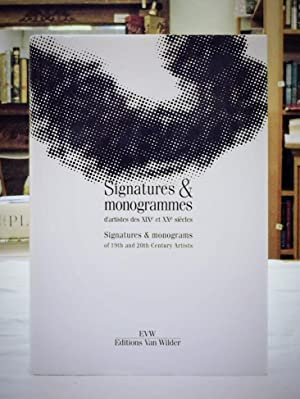Signatures and Monograms of 19th and 20th Century Artists