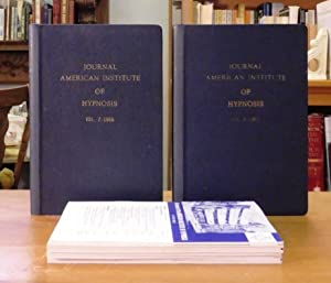 The Journal of the American Institute of Hypnosis, Volumes 6 and 7- 1965 -1966 Complete (8 Issues)