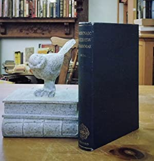 A Grammar of Mishnaic Hebrew