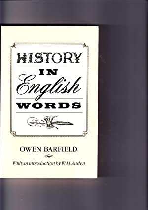 History in English Words