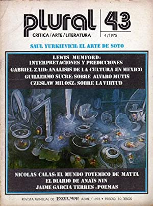 Revista Plural Nº 43, Abril de 1975
