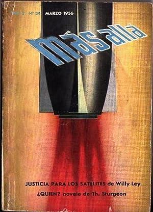 Revista Más Allá - Año 3 Nº 34, Marzo 1956: Sturgeon, Sheckley, Pohl y ...