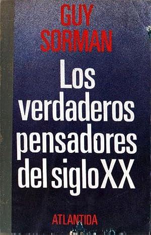 Los verdaderos pensadores del siglo XX: Sorman, Guy