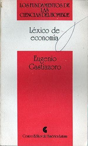 Lexico de Economia: Gastiazoro, Eugenio