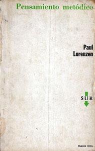 Pensamiento metódico: Lorenzen, Paul