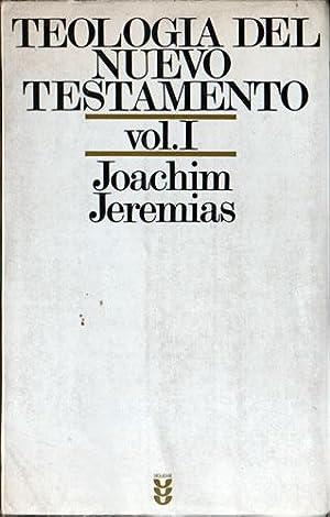 teologia do novo testamento joachim jeremias