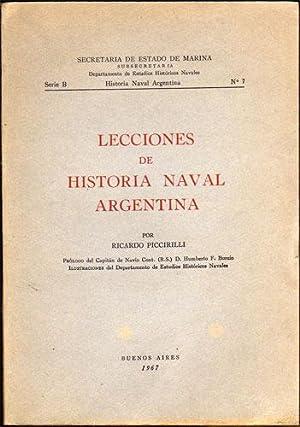 Lecciones de Historia Naval Argentina: Ricardo Piccirilli