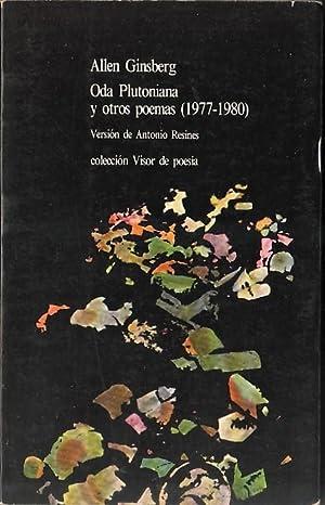 Oda Plutoniana y Otros Poemas (1977-1980): Allen Ginsberg