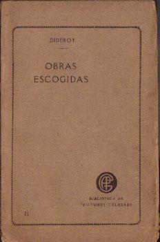 Obras Escogidas de Diderot (Tomo segundo): Diderot